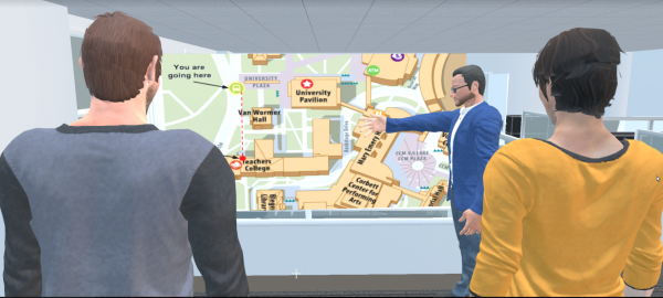 Virtuoso: 3D Collaborative Virtual Learning Environment