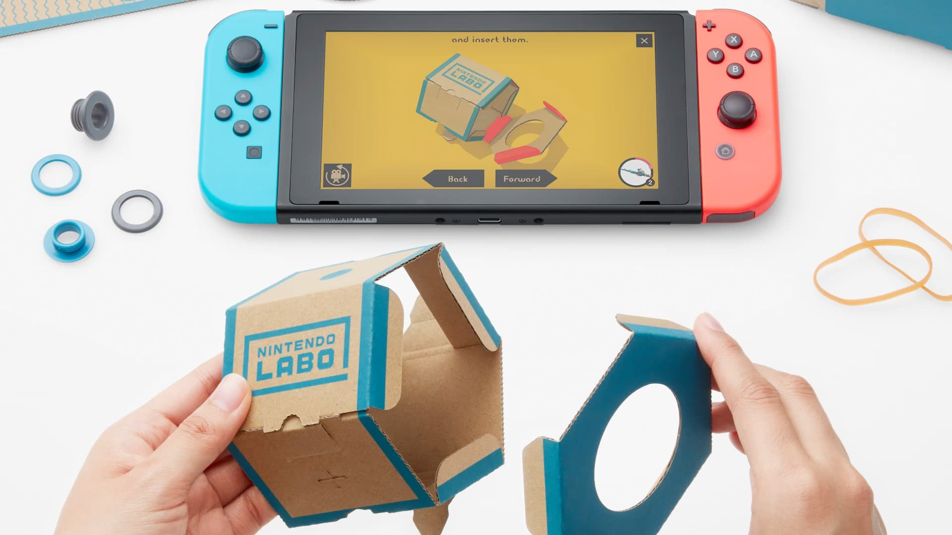 nintendo labo instructions